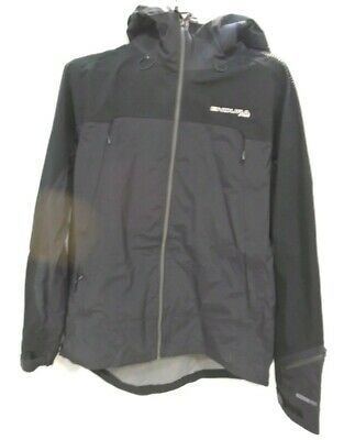 Endura MT500 Waterproof MTB Jacket II XL BLACK ¬ • 36£