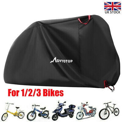 Heavy Duty Waterproof Cycle Cover Bicycle UV Protective Snow Rain Mountain Bike • 16.09£