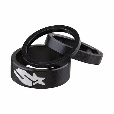 Spank Headset Spacers Set Black New In Box • 10.99£