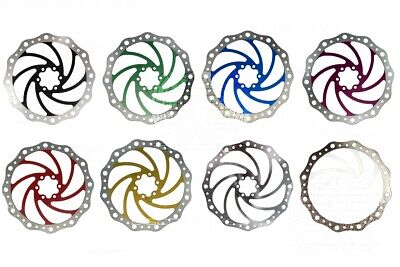 203mm 8in Vibe Disc Brake Rotor 6 Bolt IS Fixing Tough Stainless - 9 Colours • 13.99£
