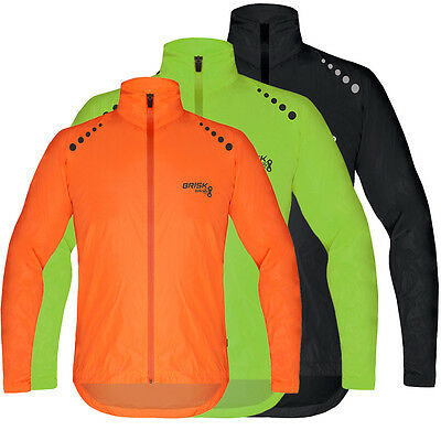 Brisk Bike Ultra-Light All Weather Sports Rain Jacket Extremely Waterproof  • 16.99£