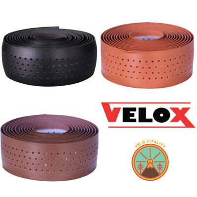 Velox Guidoline 'Soft Grip' Bar Tape (Leather Look Tape) For Vintage Retro Style • 9.99£