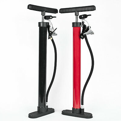 Komodo High Pressure Floor Standing Bike Pump Cycle Bicycle Tyre Hand Air Mini • 9.97£