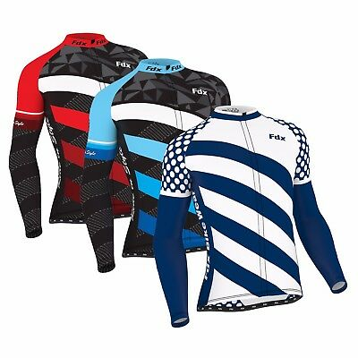 FDX Men's  Limited Edition  Cycling Jersey Roubaix Thermal Top Cycling Jacket  • 24.99£