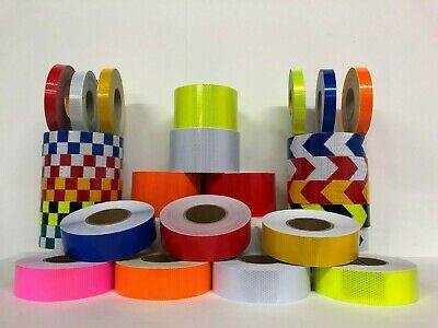 Reflective Tape High Visibility Reflective High Viz High Vis Tape - *UK SELLER* • 12.99£