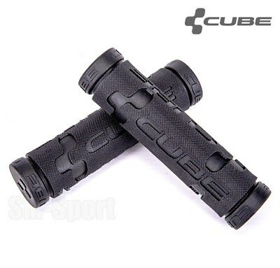 CUBE Bikes MTB, Mountain Bike Handlebar Grips, Black, Performance Comfort Series • 12.79£