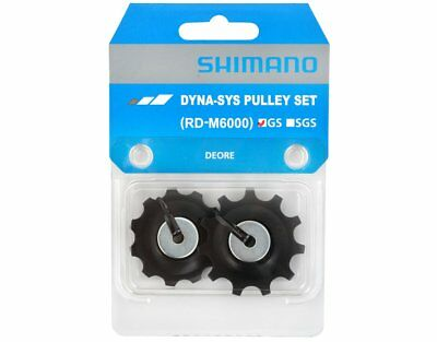 Shimano Pulley Set RD-M6000 GS - Jockey Wheels - 11T - SLX Medium Cage 10-Speed • 7.99£