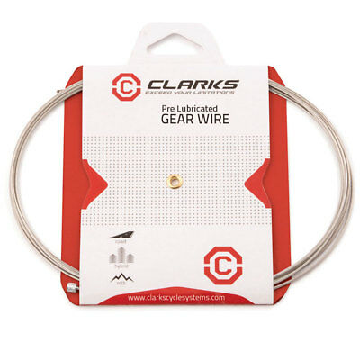 Clarks MTB Hybrid Mountain Road Race Bike Cycle Pre-Lubed Inner Gear Cable Wire • 2.65£