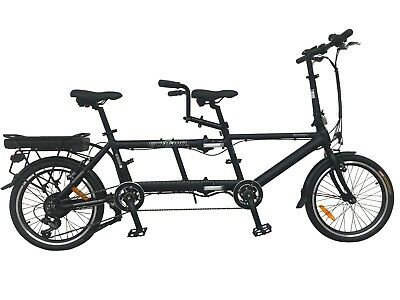 Ebike Electric Bicycle 20  Alloy Tandem Folding Bike,250W,36V 11.6A - E20TF01BL • 1,359.99£
