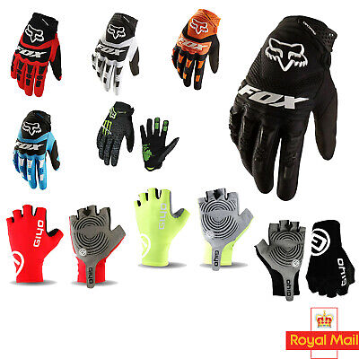 Cycling Gloves Touchscreen Full Finger Biking Glove Motorbike Dirtpaw MTB BMX UK • 12.99£