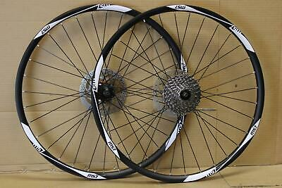 26  27.5  650B 29  MTB Bike DISC Front Rear Wheel Set Shimano Hub 7/8/9/10 Speed • 68£