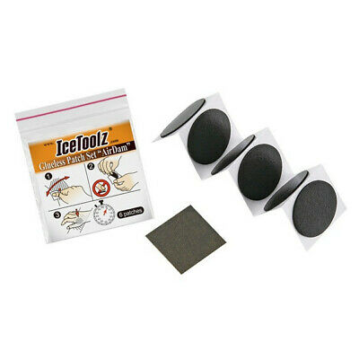 IceToolz Self-Adhesive Glueless Puncture Repair Kit - 6 Patches • 2.99£