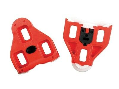Genuine Look Delta Cleat Set - Red - 9⁰ Float • 11.99£