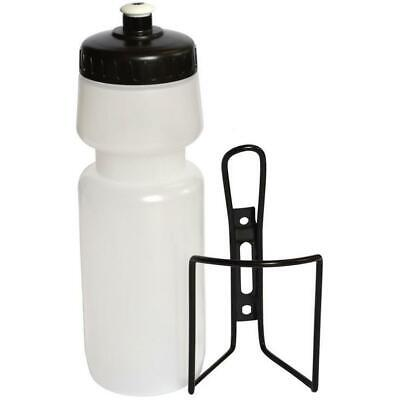 Compass Cycle Water Bottle & Cage Set - 700ml Bottle & Steel Cage • 4.97£