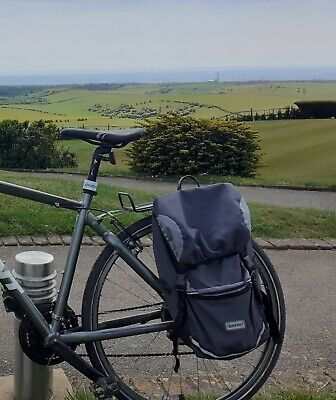 Bikehut Rear Bike Pannier Bag And Cover Used  • 5£