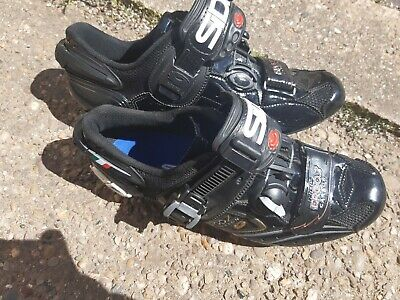 SIDI Cycling Road Shoes Size 5.5 Ergo 2 Carbon • 35£