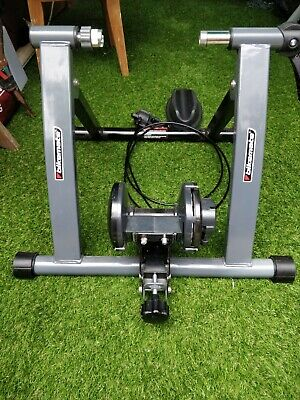 Fitness Magnetic Adjustable Bicycle Turbo Trainer -nearly New Grey Hardly Used  • 9.99£