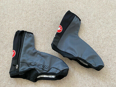 Womens Castelli Grey/black Cycling Overshoe Covers Size S • 3.99£