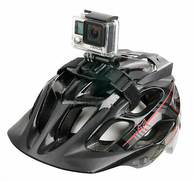 Vented Sports / Cycling / Bicycle / Cycle Helmet Mount For GoPro Hero 3 / Hero 4 • 13.99£