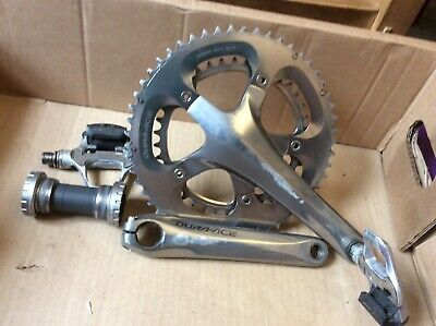 Shimano Dura Ace Chainset And Pedals And Bottom Bracket  • 20£