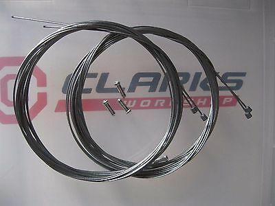 4 X CLARKS GEAR INNER CABLES For Mountain Bike / Hybrid /Road Cycles *NEW* • 3.50£