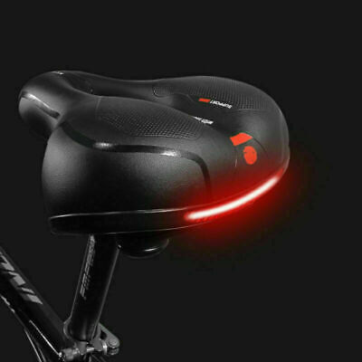 Universal Extra Wide Comfy Cushioned Bike Seat Soft Padded Bicycle Gel Saddle  • 12.96£