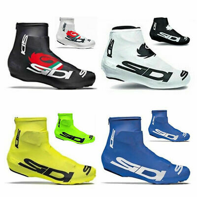 Road Bicycle Breathable Overshoes Shoe Cover Bike Cycling Zippered Waterproof • 8.59£