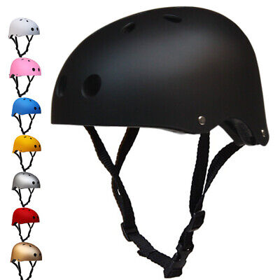 Kids Matt BMX Skate Safety Helmet Bike Bicycle Cycle Scooter Skating Adult • 12.98£