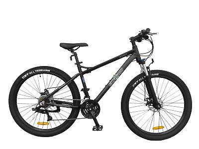 Ecosmo 27.5  Lightweight Alloy Mountain Bike Bicycle 24 SP Dual Disc - 27AM02BL • 299.99£