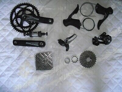 Shimano Claris 8 Speed Groupset (includes Everything But Brakes) - Used. • 46£