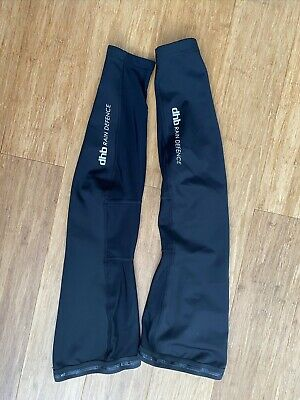 Pair Of Wiggle DHB Rain Defence Leg Warmers - Size M • 3.90£
