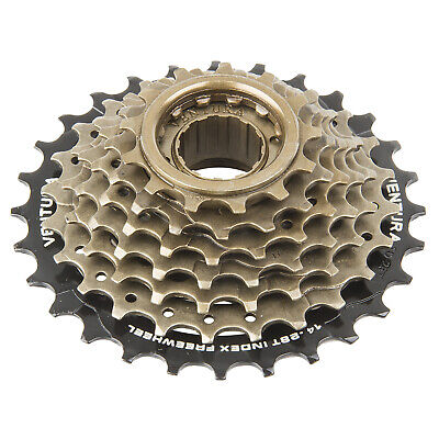7 Speed Freewheel - 13 - 28T Sprockets - Screw Fixing • 13.99£