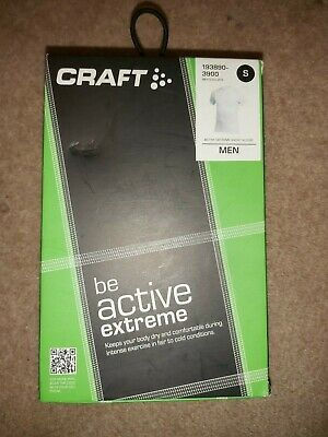 Craft Be Active Extreme Short Sleeved Men's Base Layer White • 14.99£