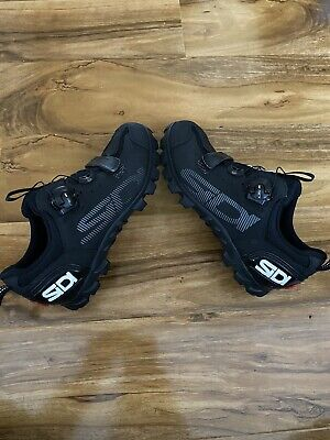 New SIDI Bike Shoes MTB SD15 Size 40 Eu Or 6uk Black • 20£