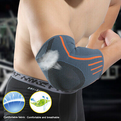 Cycling Elbow Pads Sports Protector Guard Pads Mountain Bike Elbow Brace Support • 4.98£