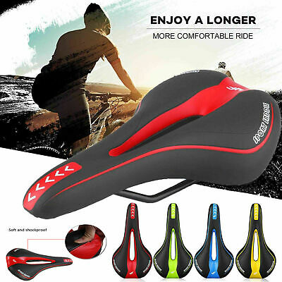Bicycle Cycle Bike MTB Saddle Road Mountain Sports Soft Cushion Gel Pad Seat New • 6.29£