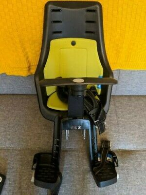 Bobike Mini Exclusive Front Mounted Child Bike Seat - Good Condition • 18.70£