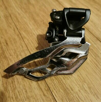 SRAM X5 Front Mech Derailleur, Dual Pull,35mm Clamp,2x10.In Good Used Condition. • 5£