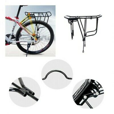 Bicycle Mountain Bike Carrier Rear Rack Seat Post Mount Pannier Luggage Holder • 10.89£