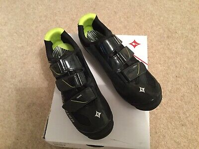 Specialized Riata Womens Cycling Shoes Black And Green EU41 UK 7 • 25£