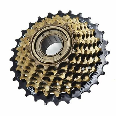 Shimano 7 Speed MF-TZ500-7 Index 14-28 Freewheel Block Screw On Cassette Cog MTB • 15.99£
