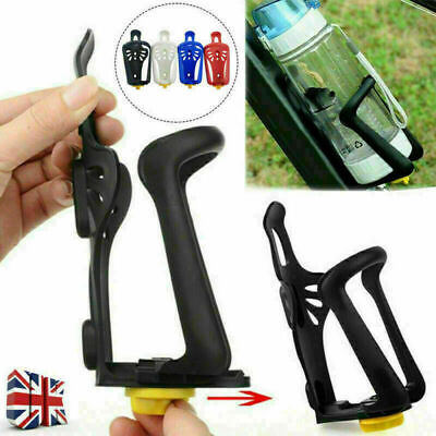 Adjustable Water Bottle Rack Cage Holder Cycling Bicycle Mountain Bike UK Seller • 3.69£