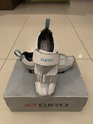 Giro Flynt Tri Womens Cycling Shoes Size 4.5 BNIB • 25£