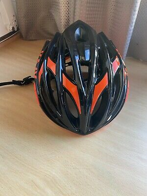 KASK MOJITO X HELMET BLACK And ORANGE LARGE GOOD CONDITION • 32£