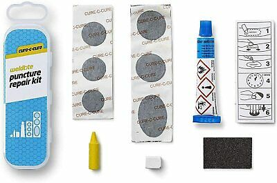 Weldtite Cure-C-Cure Puncture Repair Kit - Black - Free Next Day Delivery • 4.99£
