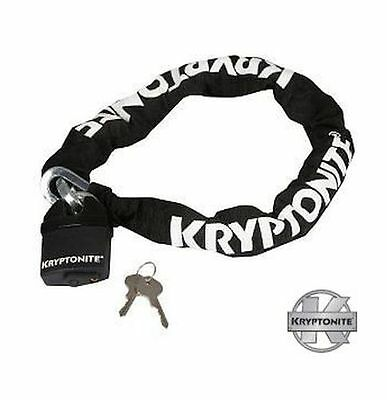 Kryptonite High Security Motorbike Scooter Keeper 1010 Chain & Armoured Padlock  • 24.95£