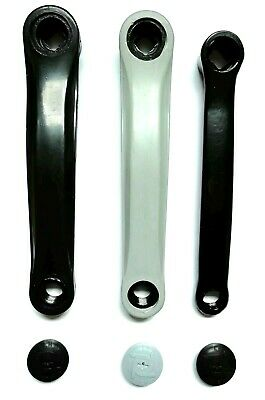 Bicycle Bike Left Hand Crank Arm - Black Or Silver • 6.99£