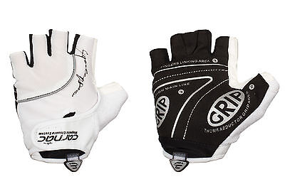 White Pair Carnac Superleggero Summer Road Racing/ Cycling Gloves/ Mitts 64% Off • 8.99£