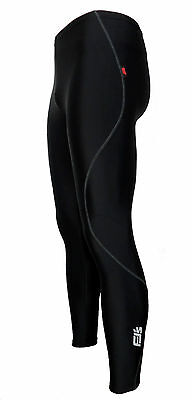 Mens Extra Long Leg Spring Summer Gel Padded Cycling Trousers Leggings Tights • 18.95£