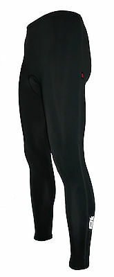 Mens Extra Long Winter Thermal Gel Padded Cycling Trousers Warm Leggings Tights • 18.95£